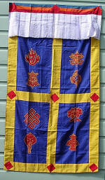 Eight Jewels Door Curtain & Tibetan Door Curtain | Buddhist Door Curtains | 8 Auspicious ... pezcame.com
